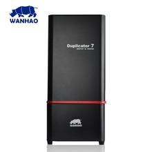 2017 vente chaude WANHAO Nouvelle Version UV résine DLP 3D imprimante D7 V1.5 avec 250 ml de résine pour livraison de haute qualité et abordable prix