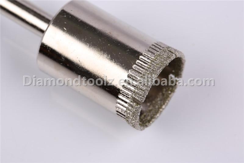 Punta da 10mm 6mm-52mm in vetro rivestito diamantato per fori di - Punta da trapano - Fotografia 3