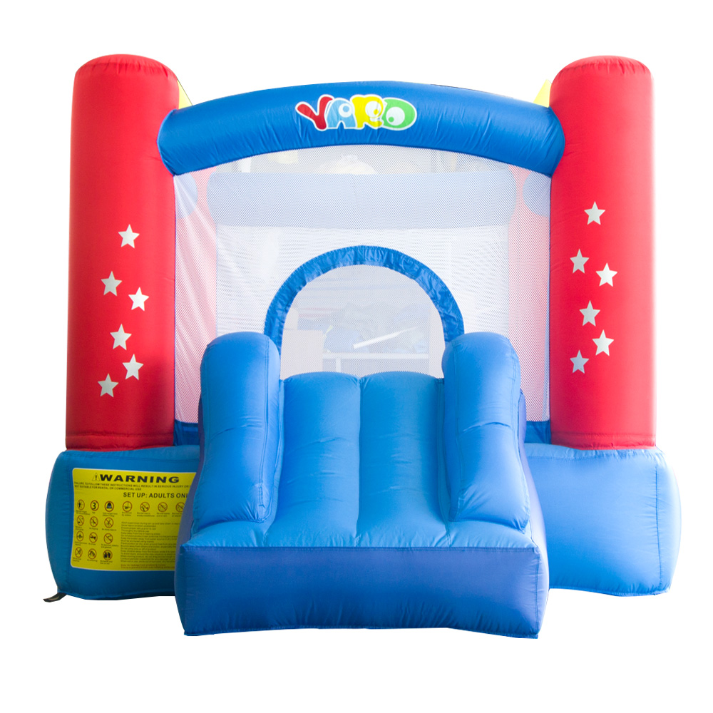 все цены на  YARD Home Use Small Inflatable Bounce House Jumping House Inflatable Trampoline with Slide Inflatables Games for Kids  онлайн