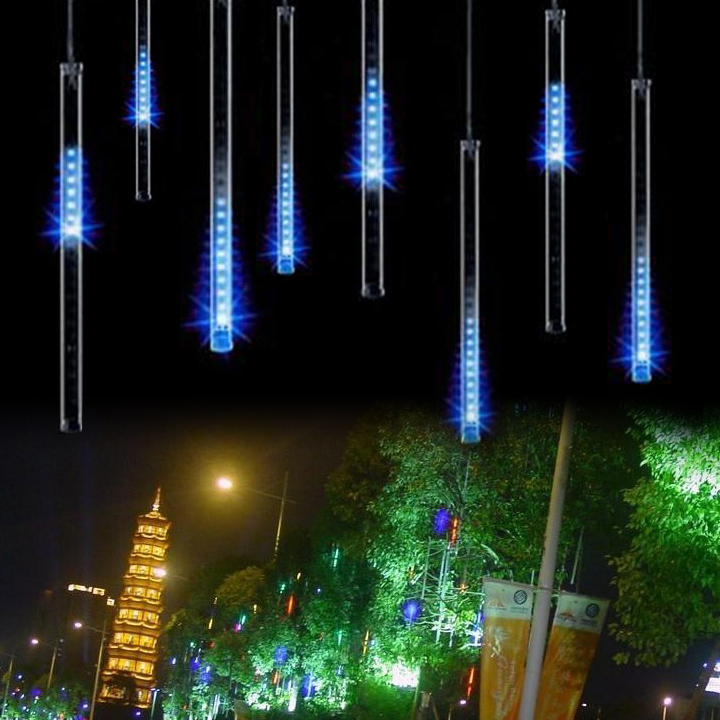 80LED Christmas Lights Outdoor Curtain Led String Lights