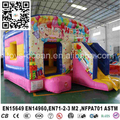Happy balloons inflatable bounce/inflatable jumping bouncer for party