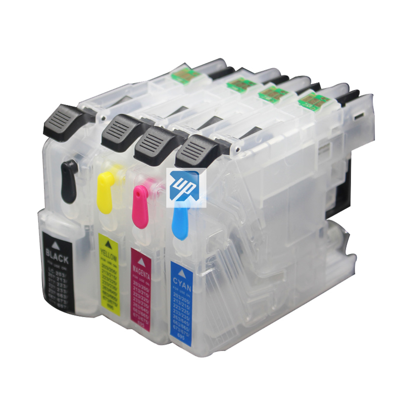 5sets LC223 lc225 refillable ink cartridge for brother J562DW J480DW J680DW J880DW 4120DW J4420DW J4620 J4625DW printer-in Ink Cartridges from Computer & Office    1