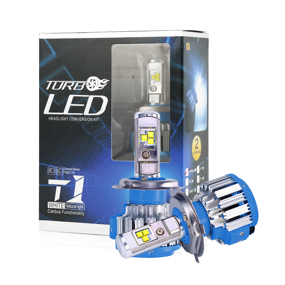 TC X LED 2017 Car Headlights Kit H7 H8/H11 H1 HB3/9005 HB4/9006 H3 ...