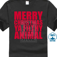 2c89d6150 Merry Christmas Ya Filthy Animal T Shirt Top Gift Funny Novelty Elf Ho Ho  Ho(