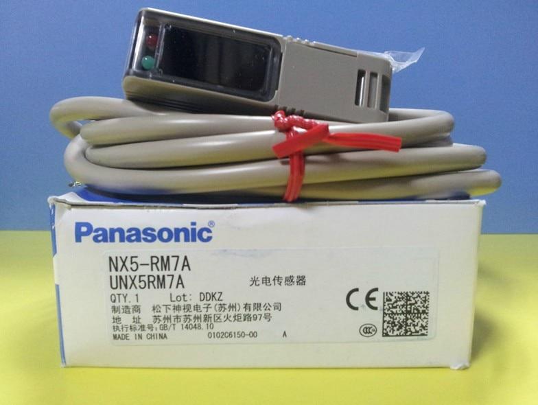 Brand new original authentic SUNX photoelectricity switch NX5-RM7A dhl ems 2 sets new original sunx photoelectricity switch ex 42