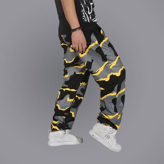 2016 Hot Sale HTide masculino calças soltas hop hop roupas modelos masculinos Wei calças Frete Grátis