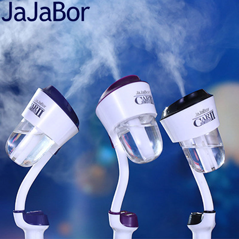 JaJaBor Car Air Humidifier Air Purifier Air <font><b>Freshener</b></font> Ultrasonic Atomization Aromatherapy Mist Maker Fogger Dual USB Car Charger