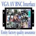 ZGYNK/8 polegada Estrutura Aberta do monitor Industrial/metal monitor com VGA/AV/BNC/HDMI monitor