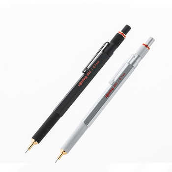 Germany Rotring 800 Mechanical Pencils 0.5mm 0.7mm Professional Metal Pen Automatic Pencils For Design Sketch Stationery