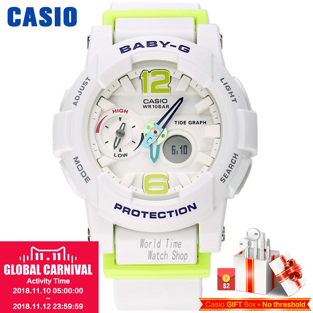 Casio watch tide three-dimensional electronic sports female watch BGA-180-2B BGA-180-1B BGA-180-7B2 BGA-180BE-7B BGA-180-7B1 casio bga 185fs 2a page 9