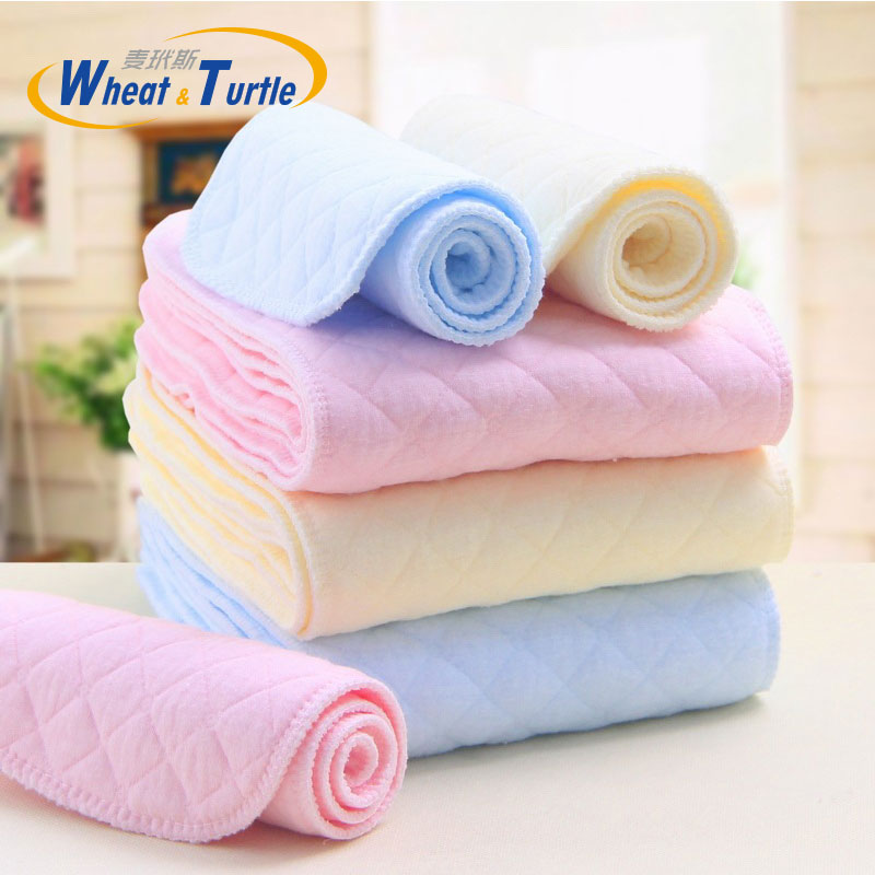 Mother Kids Diapering Toilet Training Diapering Nappy Liners 5Pcs/Lot Baby Care Baby Nappies Reusable Baby Cloth Diaper Liner beilesen solid superfine fiber reusable modern cloth nappies 10 pcs lot