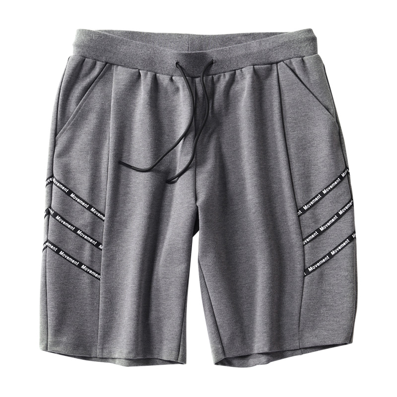 Men Summer Beaching Shorts Trousers Cotton Bodybuilding Sweatpants Fitness Short Jogger 5XL Casual Gyms Men Shorts Ribbsons