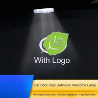 QHCP 2Pcs Car Door Opening Welcome Lamp LED Warning Light Stickers HD Projector Laser Spcial For Lexus IS300 200T 250F RC200 300