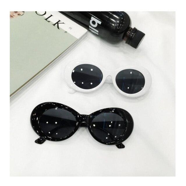 Online Shop Kurt Cobain Glasses Plastic Oval Frame Fashion Glasses ...