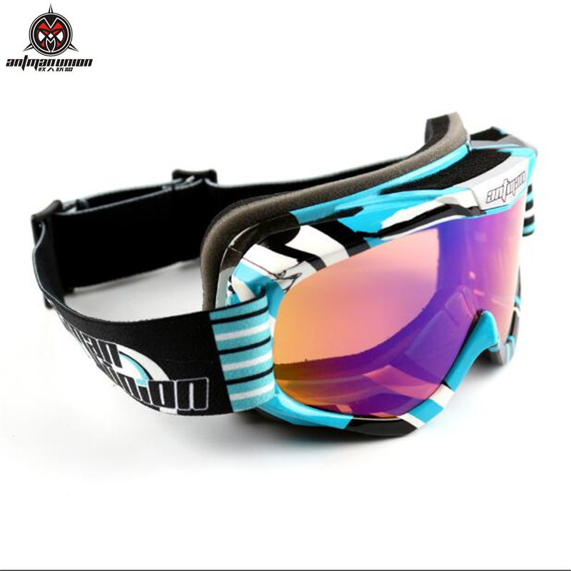 AntmanUnion Motocross goggles ATV DH MTB Dirt Bike Glasses Oculos Antiparras Gafas motocross Sunglasses For Motorcycle Helmet