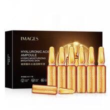 Hyaluronsäure Gesicht Serum Set 7PCS Essenz Kollagen Hautpflege Pore Minimizer Bleaching Anti aging Pigment Null Nicotinamid P