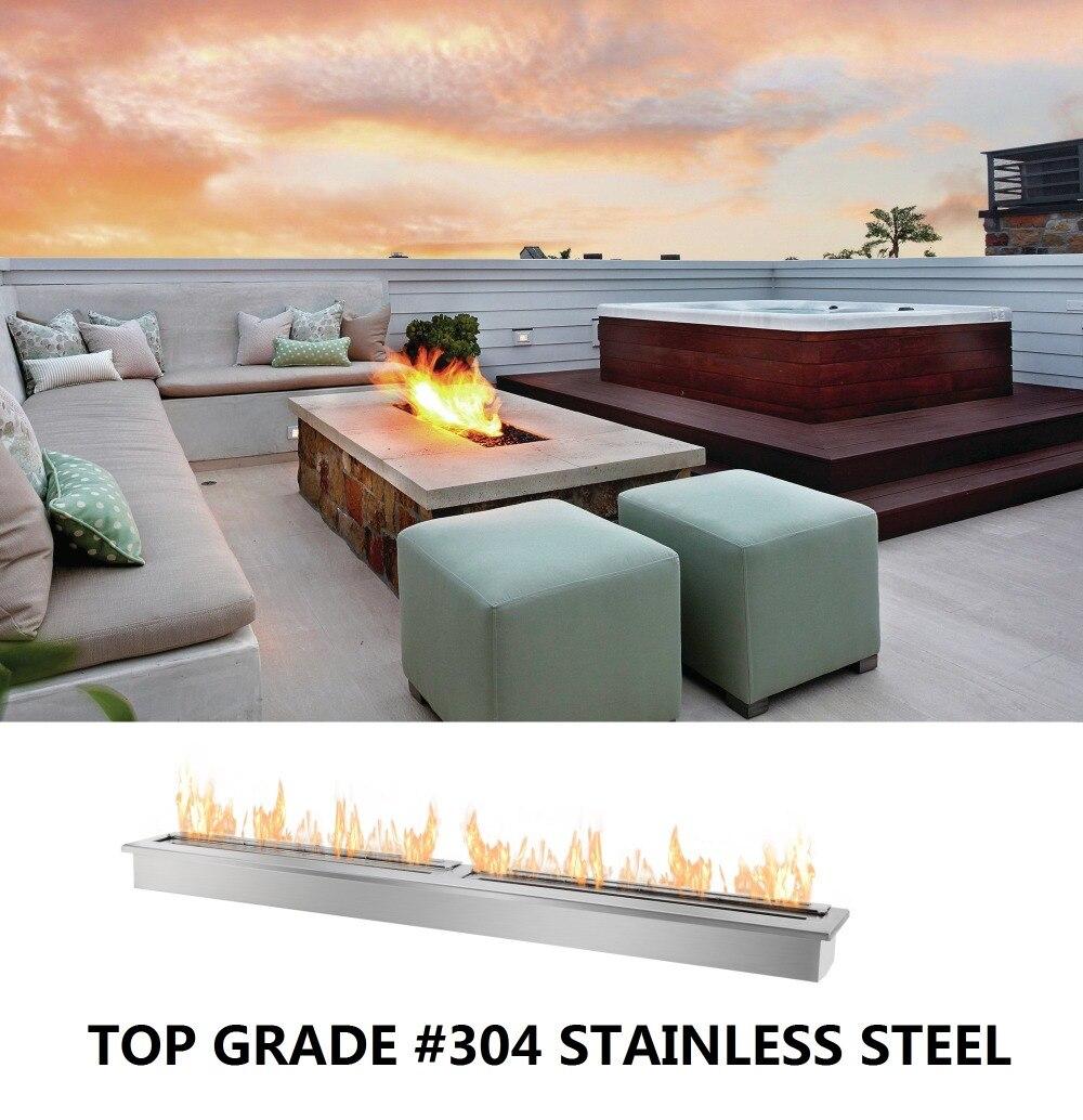 Inno Living Fire 1.5M Stainless Steel 304# Bio Ethanol Fireplace Insert