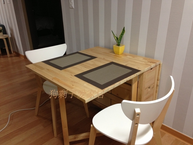 Genuine Wood Folding Tables Table Ikea Norton Erfly