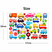 Nu-TATY 10PCS/LOT Cartoon Cars Child Temporary Tattoo Body Art Flash Tattoo Stickers 17*10cm Waterproof Home Decor Styling Tatoo