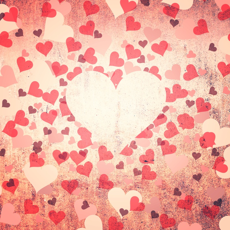 Laeacco Old Wall Love Heart Pattern Photography Backgrounds Customized Photographic Backdrops For Photo Studio