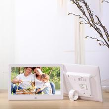 цена на HobbyLane 10.1 Inch Widescreen Digital Photo Frame 1024x600 HD Ultra-Thin LED Electronic Photo Album LCD Photo Frame d25