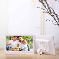 HobbyLane 10.1 Inch Widescreen Digital Photo Frame 1024x600 HD Ultra Thin LED Electronic Photo Album LCD Photo Frame d25