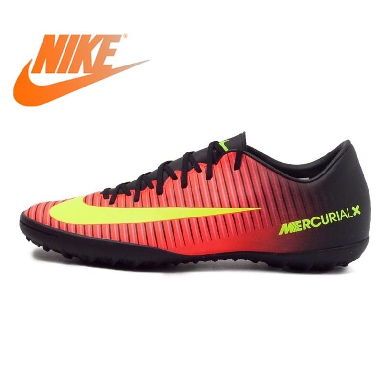 Original NIKE MERCURIALX VICTORY VI TF Men's Football Shoes Soccer Sports Sneakers Men Breathable Soccer Shoes for Men 831968