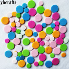 240PCS/LOT,Small dot mosaic foam stickers Foam puzzle Early learning educational toy Kindergarten craft diy toys Creative Fancy(China)