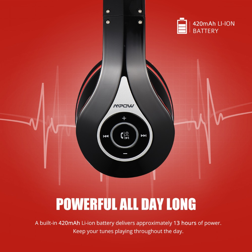 Mpow M3 Wireless Headphones (7)