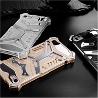 For Apple IPhone 7 4 7 Hard Cases Cool Rugged Stainless Steel Aviation Aluminum Cell Phone