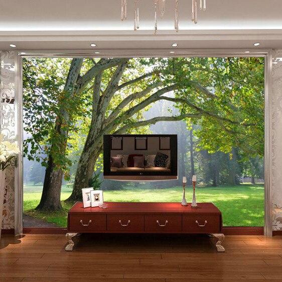 Online Kaufen Großhandel wald tapete schlafzimmer aus China wald ...