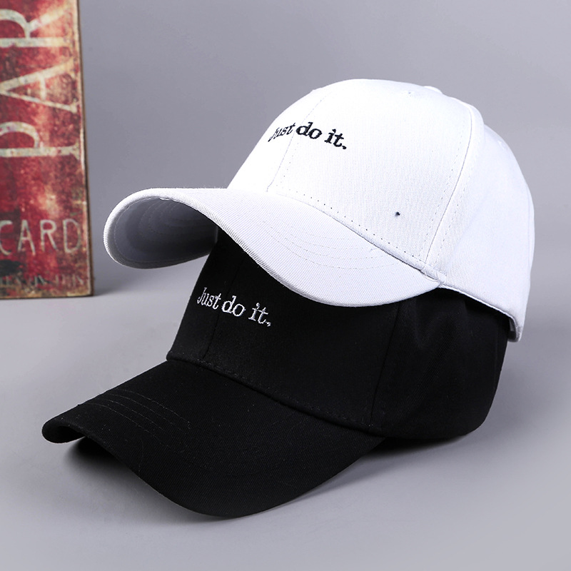2018 Korean spring hat male and female fashion outdoor leisure curved letter   cap   creative English   cap   women hat   Baseball     cap