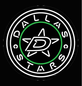 Custom Dallas Stars Beer Bar Pub Lamp Glass Neon Light Sign Beer Bar
