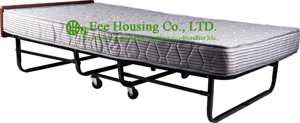 2016 Hot Sale Hotel Extra Folding Bed,Hotel Extra Bed Metal Folding Rollaway Bed Queen Size
