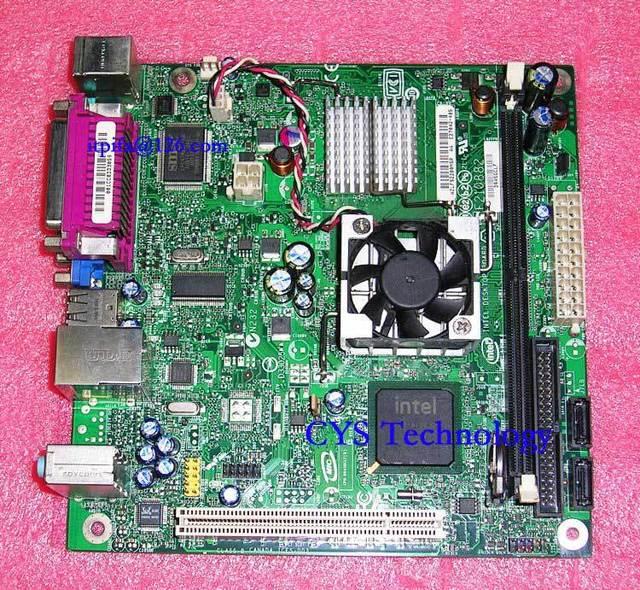 Free shipping for original motherboard D945GCLF ATOM 230 1.6G 17*17 Mini-ITX desktop mainboard DDR2 work perfect