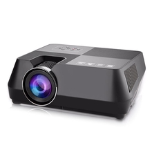 Gt-S8 800x480 Portable Multimedia Lcd Projector With Hdmi Usb Av Vga Support 720P Tf Interface For Home Theater Cinema Au Eu U new multimedia home cinema theater lcd projector hd 1080p usb hdmi vga tv pc av h60w