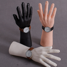 3 цвета высокий уровень мужской рукой манекен Best Пластик Для мужчин Манекен рук завод прямые продажи для кольца часы Прихватки для мангала Дисплей