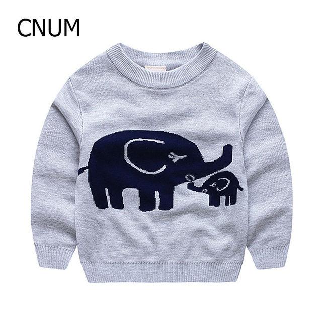 Sping nueva marca de moda de lujo ropa suéter niño 100% infantil de calidad de algodón suéter del o-cuello del suéter de cobertura