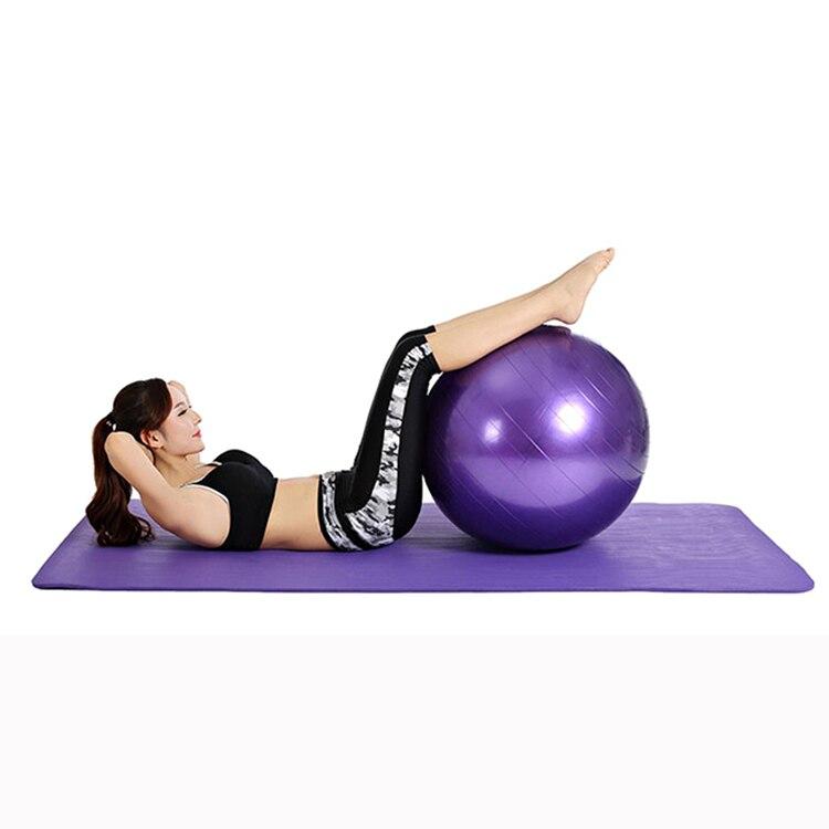 45 см тренировки Фитнес мяч йога Fit-мяч упражнения шары 5 цветов пилатес мяч упражнения дома упражнения T28 ...