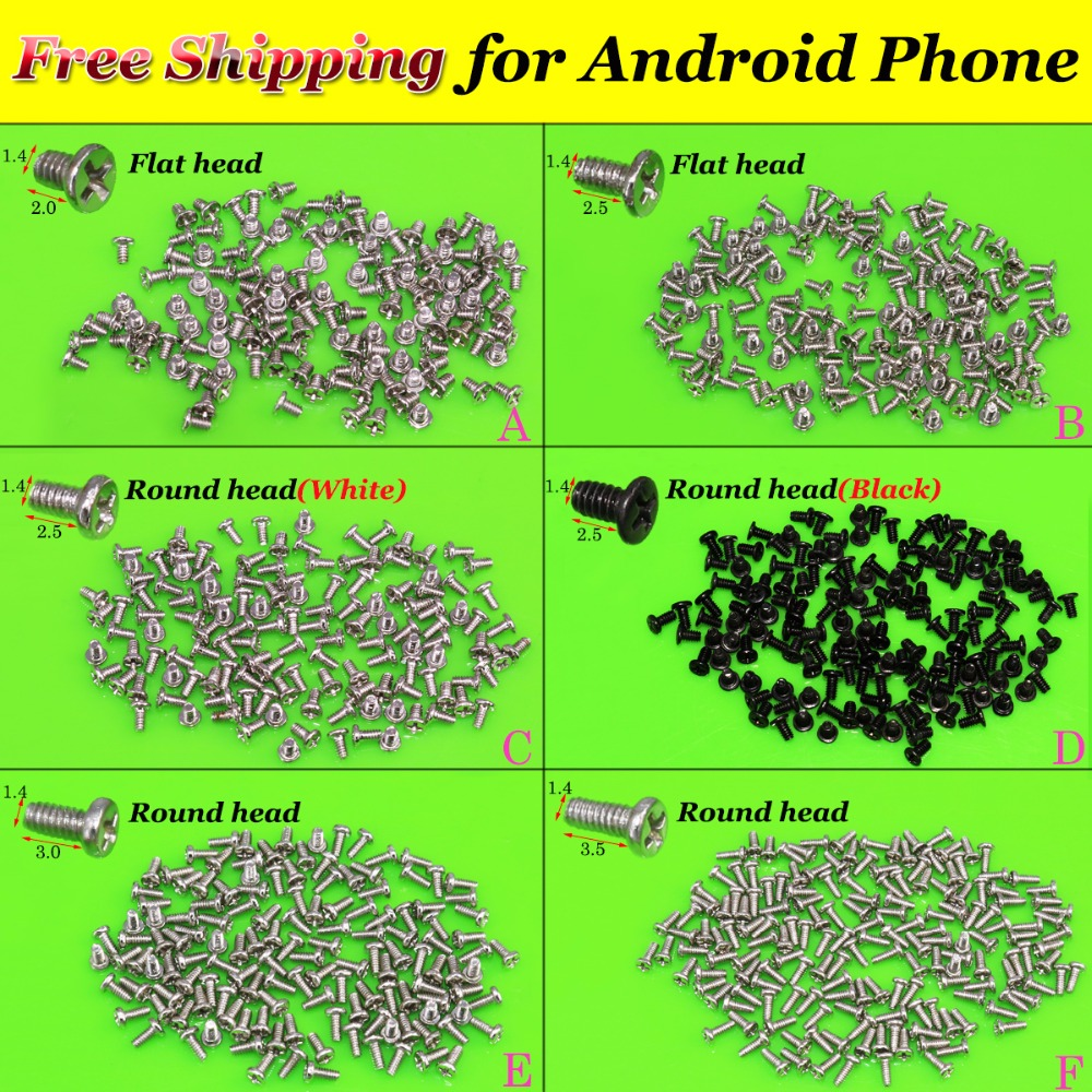 YuXi Replacement Full Screw Set For Antroid Phone Screws 1.4X2.0 2.5 3.0 3.5