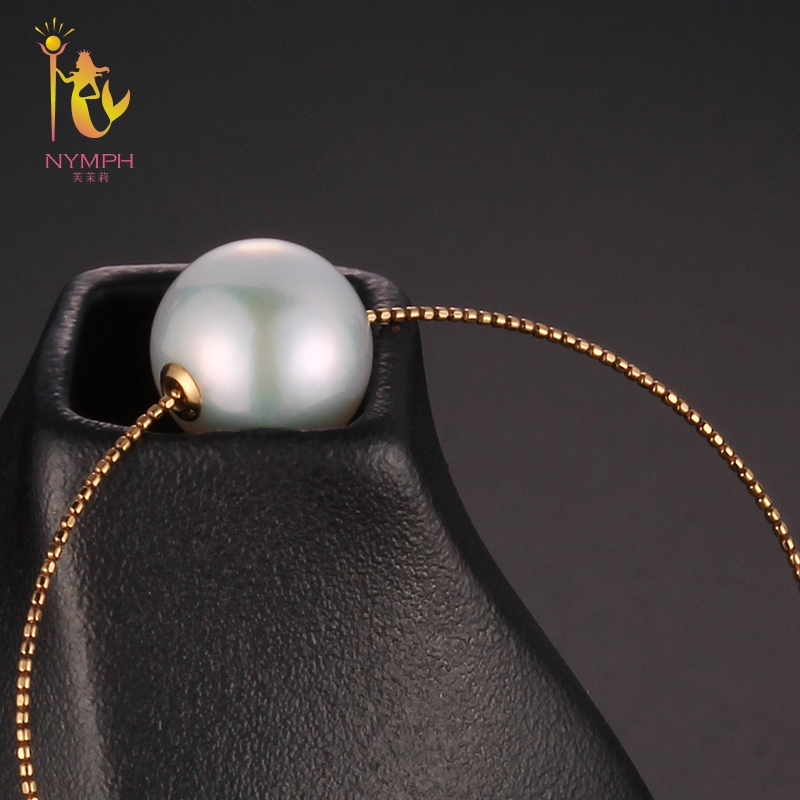 NYMPH Pearl Jewelry Baroque Pearl Bracelets Jewelry Natural Stone Charm bracelets For Women Party Gift [S306]