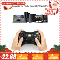 3 in 1 2.4GHz Bluetooth Wireless Controller For Sony PS3 For Xbox 360 Console Game Joystick Controle For PC Win7 Win8 Win10