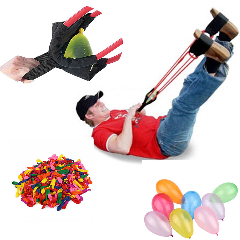 Bunch Water Balloon Launcher Bombs Colorful Balloons For Children Party Sands Beach Small Balloon Solo Water Bomb Catapault