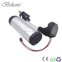 EU US no tax bottle battery pack 36v 12ah 500W Electric Bicycle battery pack 36volt with built in BMS|Electric Bicycle Battery|   -