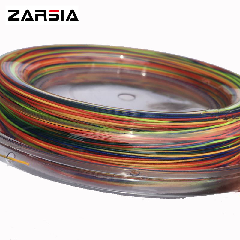 2017 Hot selling ZARSIA Rainbow Badminton String Reel 200M Gratis frakt