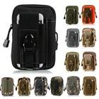 For iPhone/Samsung/LG Universal Outdoor Tactical Holster Military Molle Hip Waist Belt Bag Wallet Pouch Purse Phone Case Zipper