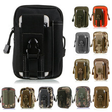 For iPhone/Samsung/LG Universal Outdoor Tactical Holster Military Molle Hip Waist Belt Bag Wallet Pouch Purse Phone Case Zipper