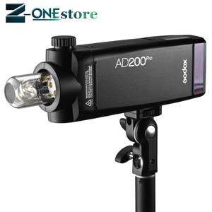 Image 3 - Đèn Flash Godox AD200pro 200Ws Ngoài Trời Sáng AD200 PRO Bỏ Túi Sáng cho Sony Nikon Canon Fuji TTL HSS 2.4G không dây X Hệ thống