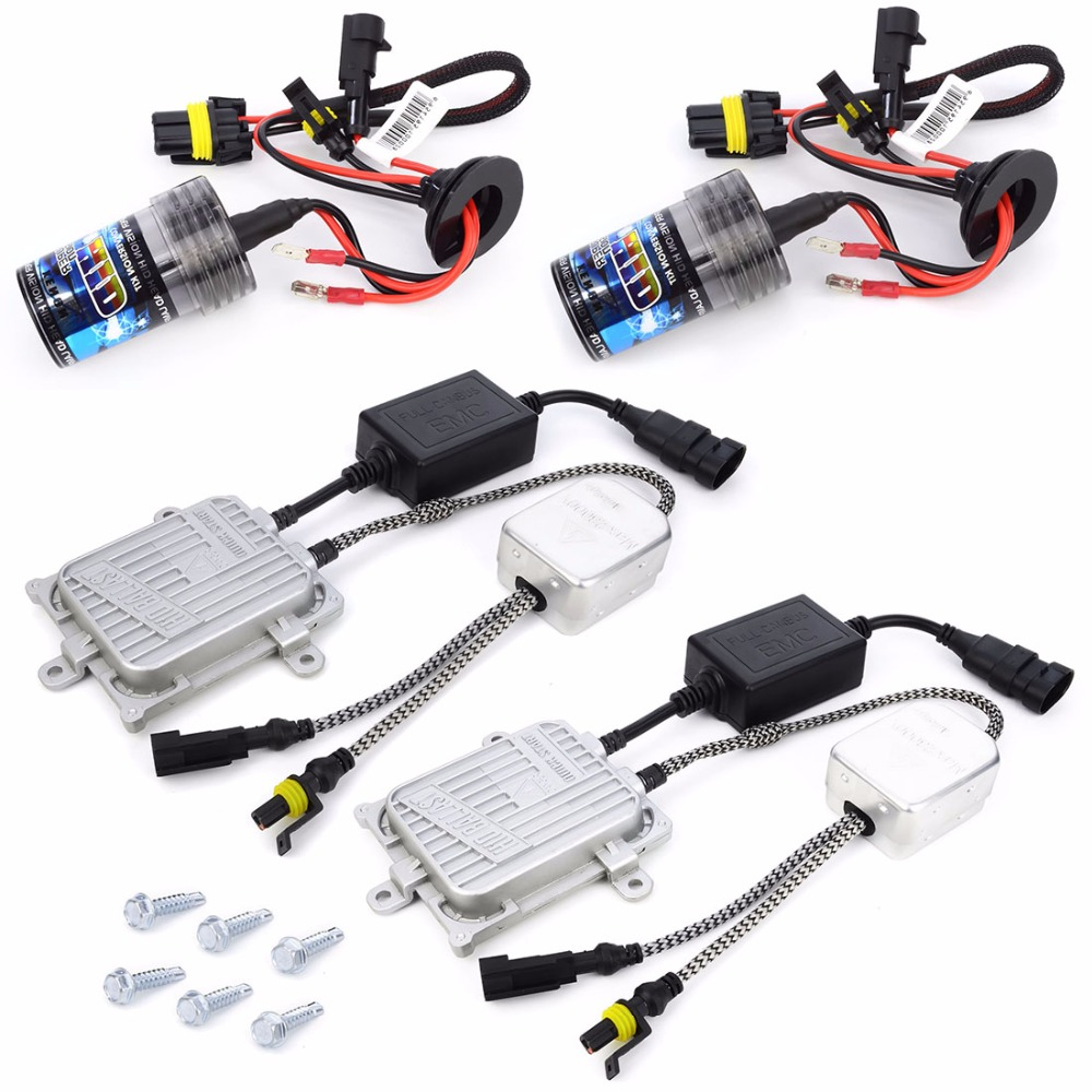 10sets AC 12v hid kit 35w single beam H1 H3 H4-1 H7 H8 H9 H10 H11 H13-1 880 881 9003 xenon canbus hid kit