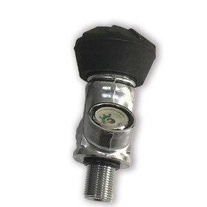 Image 3 - Ac931 acecare 4500psi g5/8 fibra de carbono cilindro válvula rosca m18 * 1.5 para pistola ar/airsoft/rifle airforce condor pcp paintball